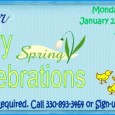 Winter-Spring Story Celebrations @ the East Branch Mondays @ 11:00 am January 23rd through April 23rd, 2012 for children ages 2-5 Stories, crafts, songs and more! To register call...