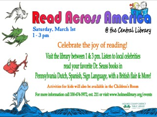 Read Across America @ Holmes County District Public Library | Millersburg | Ohio | United States