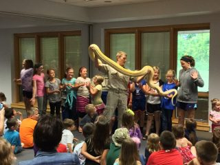 Outback Ray's Amazing Animal Show @ Central Library | Millersburg | Ohio | United States