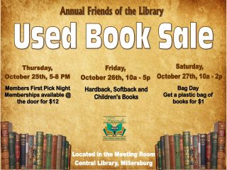 FOL Used Book Sale - Members Only Night @ Central Library | Millersburg | Ohio | United States