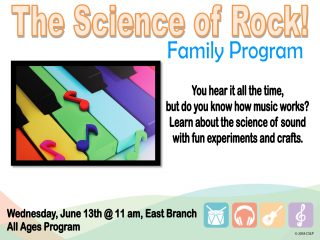 The Science of Rock! @ East Branch | Walnut Creek | Ohio | United States