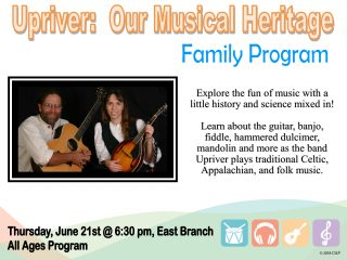 Upriver: Our Musical Heritage @ East Branch | Walnut Creek | Ohio | United States