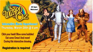 Wizard of Oz Interactive Movie Experience @ Central Library